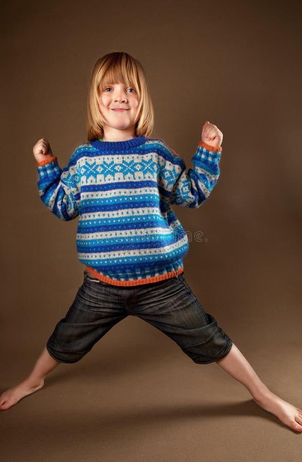 dziecka mody pulower zdjęcia stock