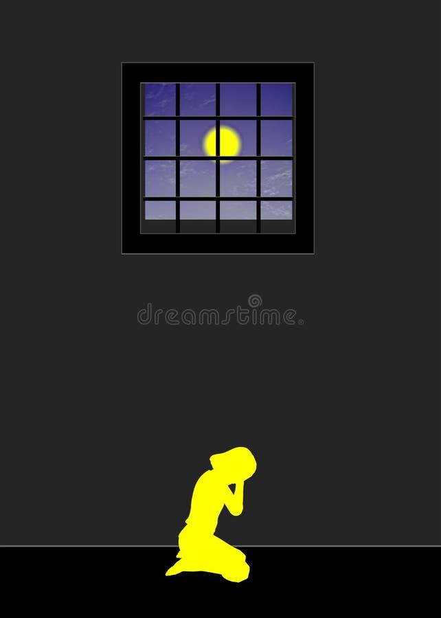 Dziecka nadużycie ilustracji