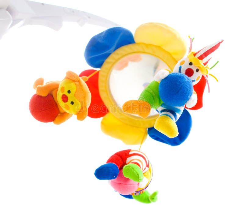dziecka obwieszenia zabawka obrazy royalty free