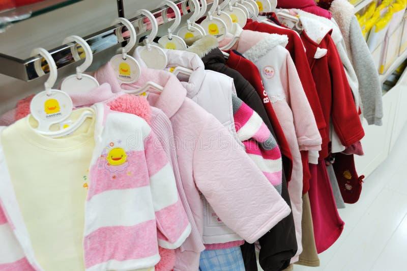 dziecka odzieżowy piyopiyo sklep zdjęcie stock
