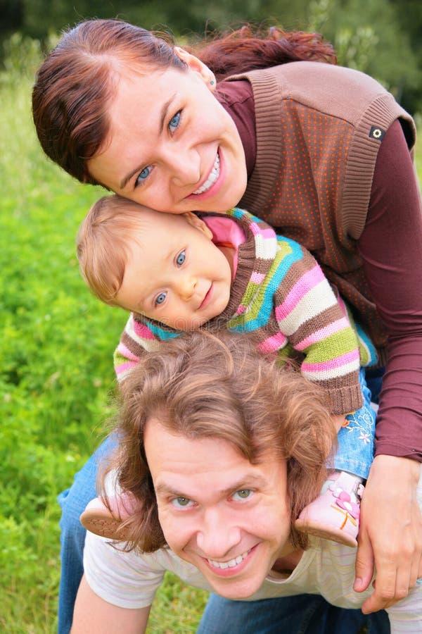 dziecka ojca matka zdjęcia stock