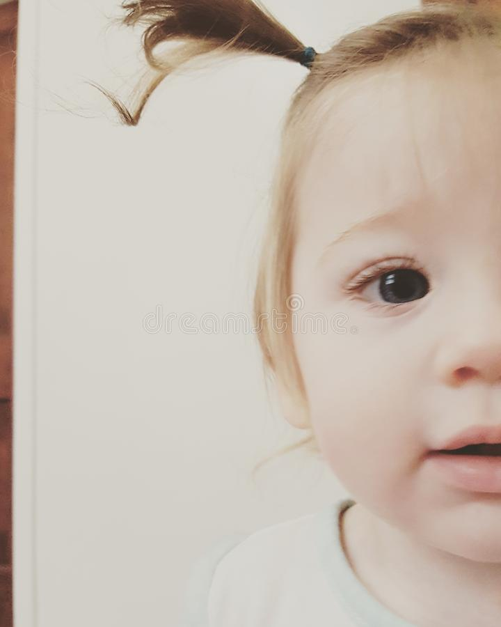 Dziecka piękno obraz stock