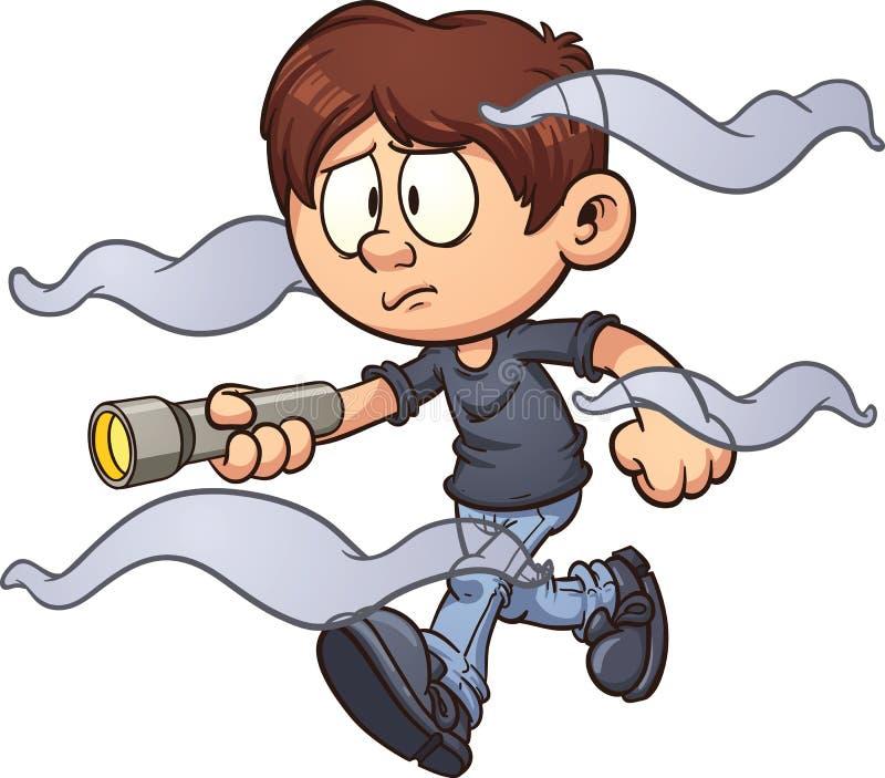 dziecka postać z kreskówki dziecka dziewczyna odizolowywający dzieciak royalty ilustracja