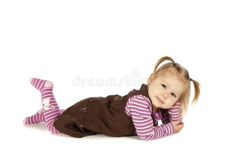 Dziecka Pozować zdjęcie royalty free