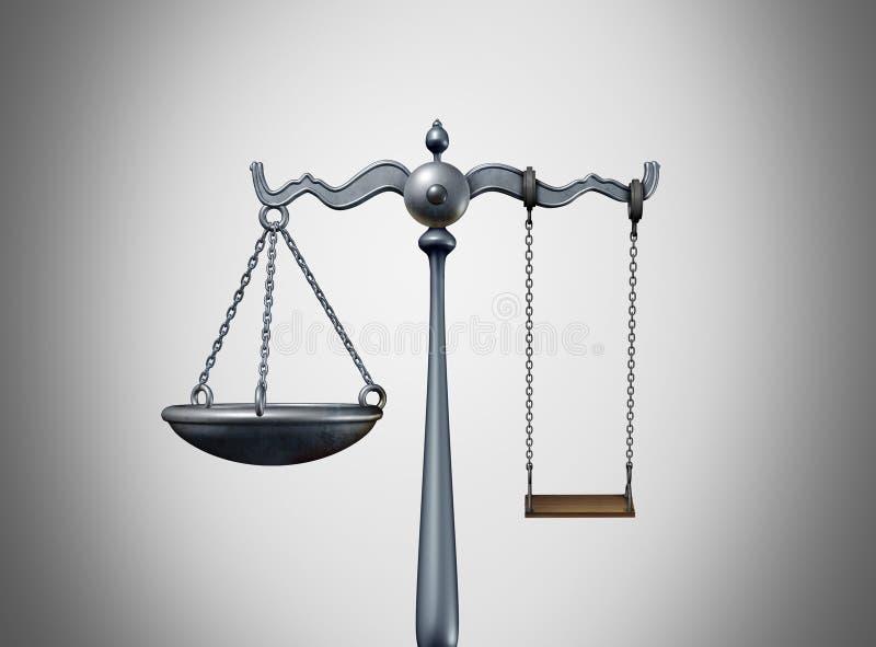 Dziecka prawa pojęcie ilustracja wektor