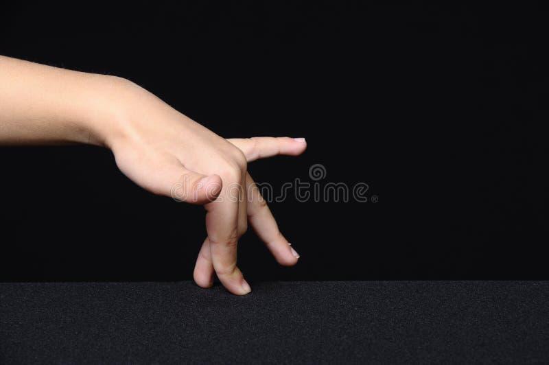 dziecka ręki odprowadzenie obrazy stock