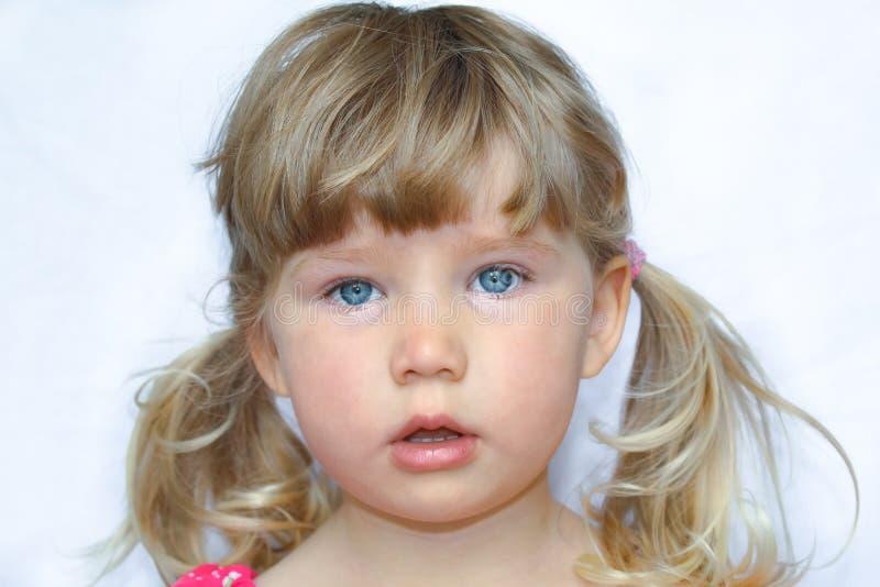 Dziecka ` s portret dziewczyna obrazy royalty free