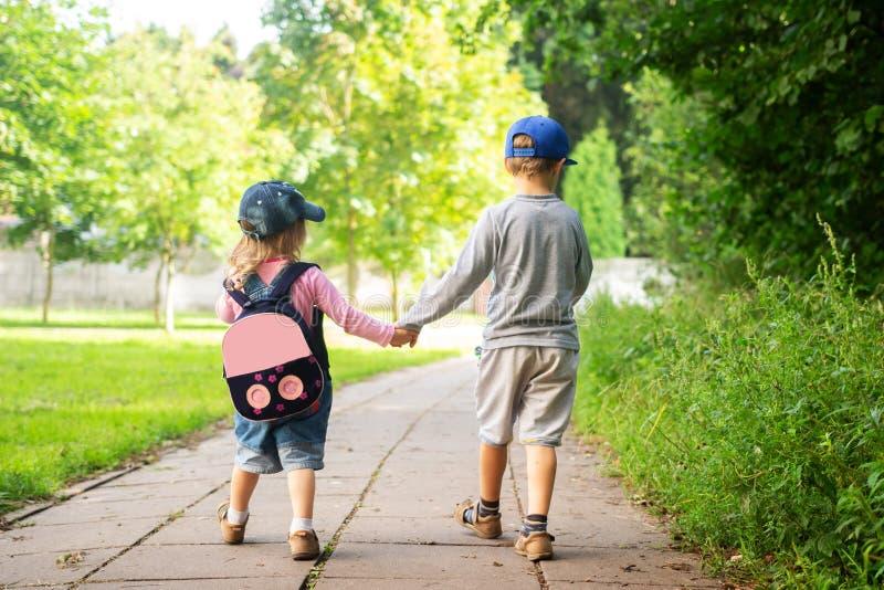Dziecka ` s przyjaźń fotografia stock