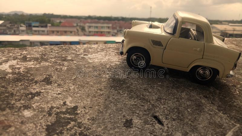 Dziecka ` s zabawki samochód zdjęcie royalty free