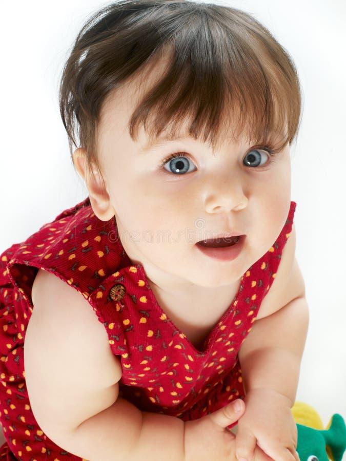 dziecka tła biel obrazy royalty free