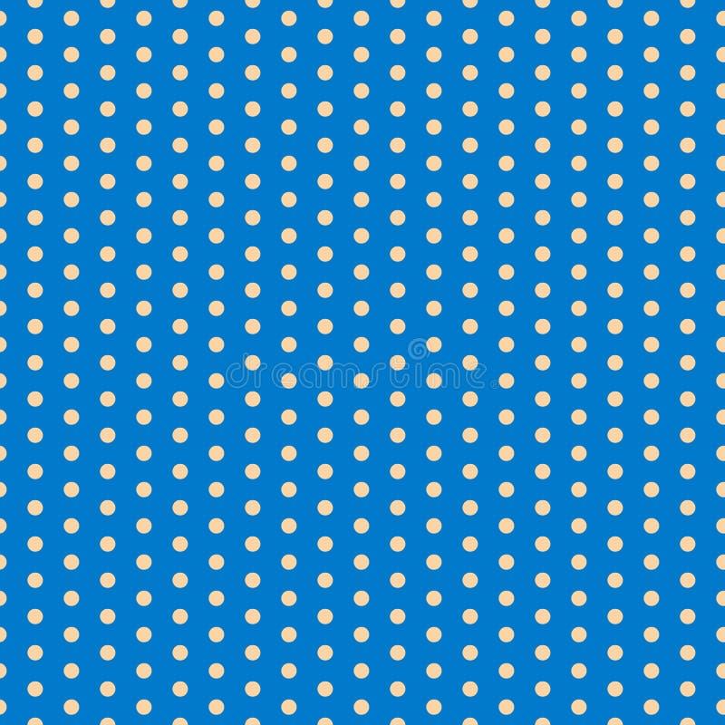 dziecka tła kopii przestrzeni tekst polki kropki wzór Wektorowa ilustracja z małymi okręgami tło z cekinami 10 eps ilustracji
