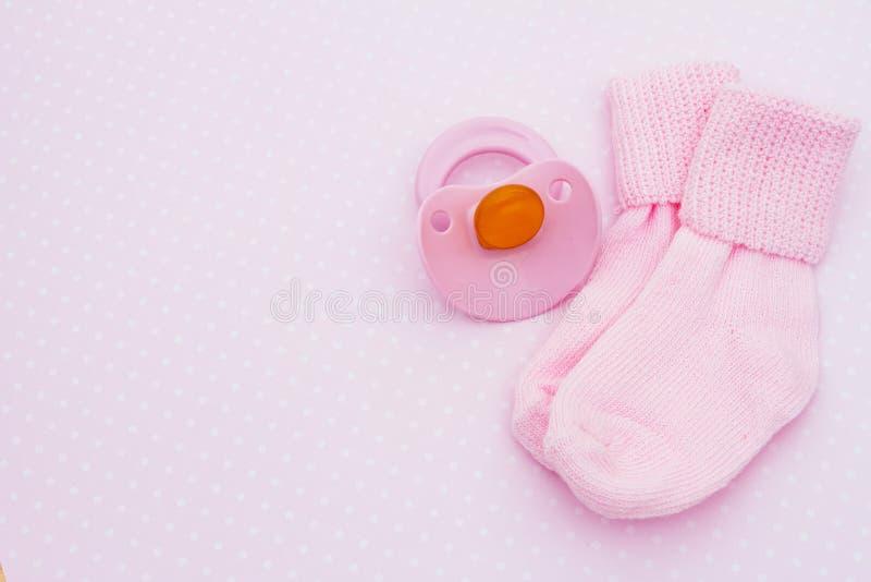 dziecka tła menchie obraz stock
