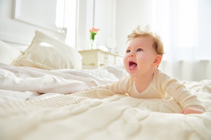 dziecka target333_0_ szczęśliwy obraz stock