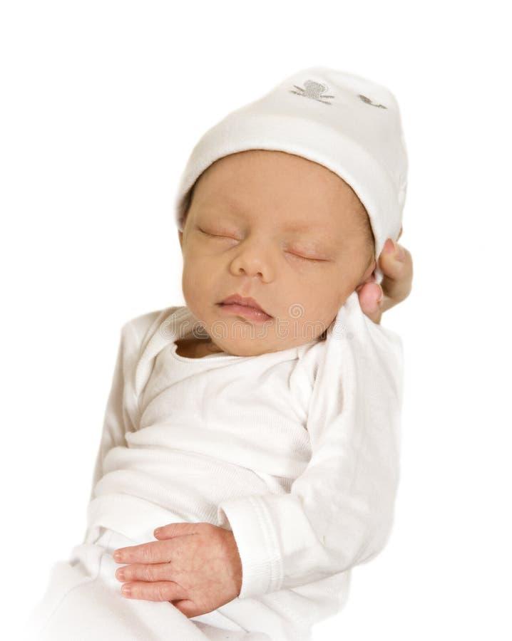 dziecka target3460_1_ urodzony nowy pokojowo fotografia stock
