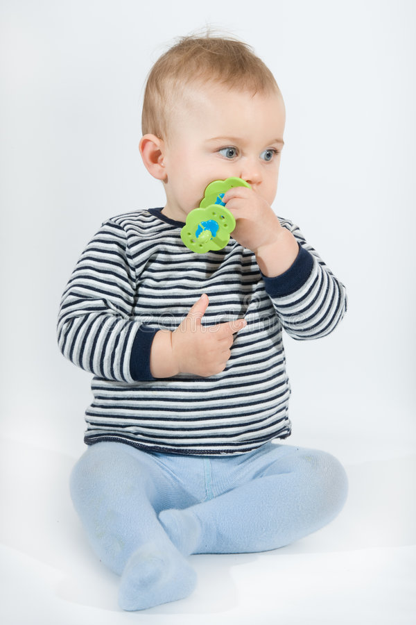 dziecka teether zdjęcie stock