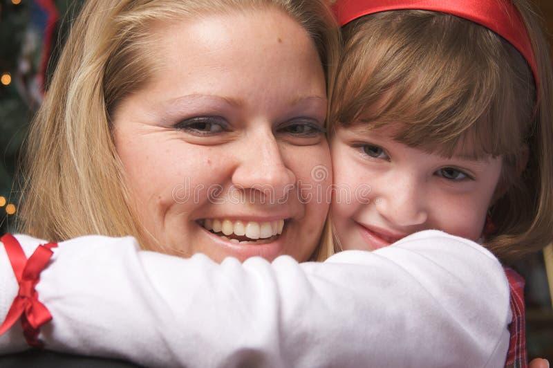 dziecka uściśnięcia matka fotografia stock