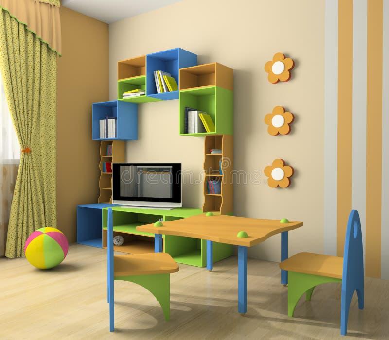 dziecka wnętrze ilustracja wektor