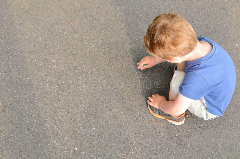 Dziecka writing obrazy stock