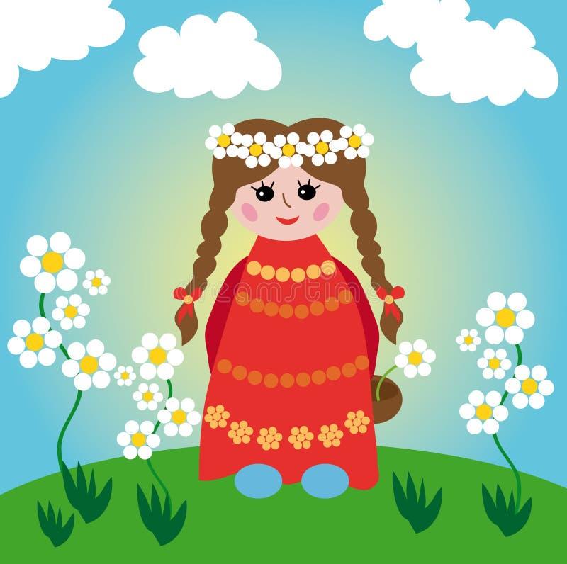 dziecko royalty ilustracja