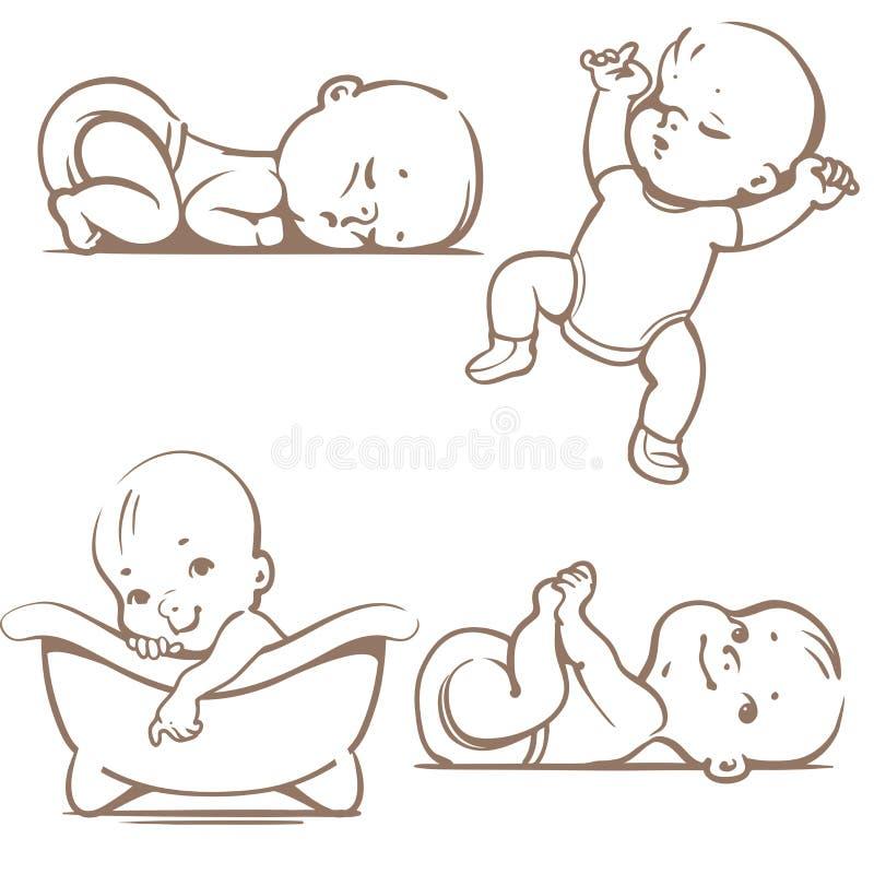 Dziecko ilustracja wektor