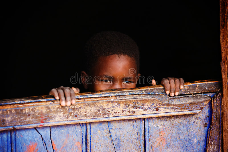 dziecko afrykańskiej obrazy stock