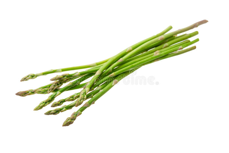 Dziecko asparagus zdjęcie royalty free