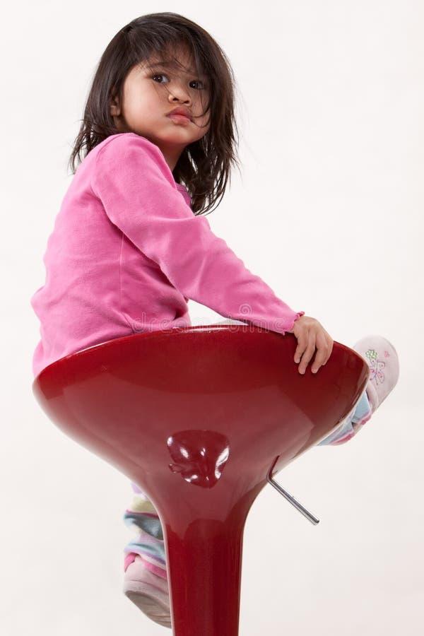 dziecko azjatykci atrakcyjny berbeć zdjęcia royalty free