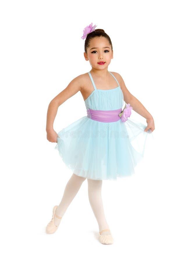 Dziecko Baletniczy tancerz obrazy royalty free