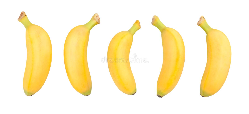 Dziecko banan obraz royalty free