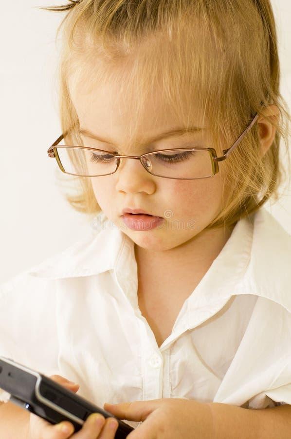 dziecko biznes zdjęcia stock