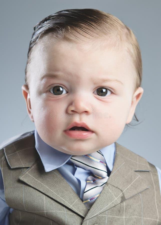 Dziecko biznesmen obraz stock