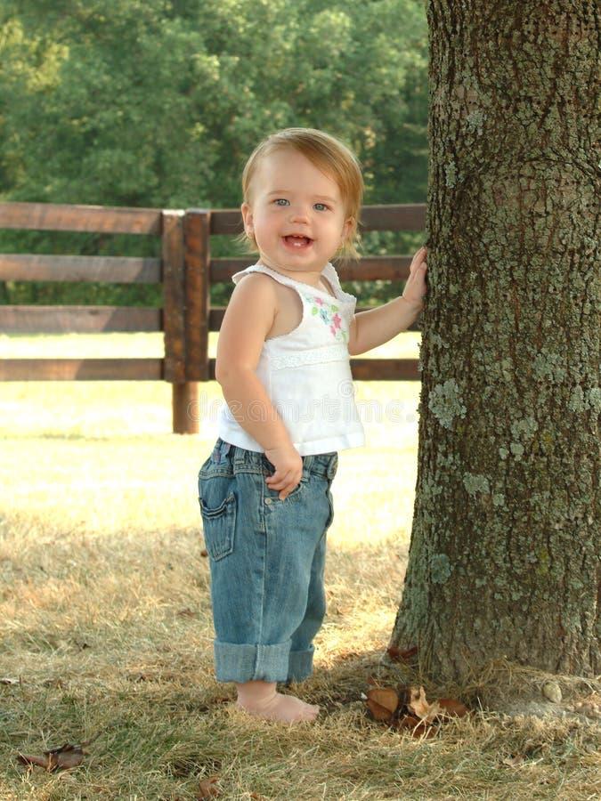 dziecko bluejean zdjęcia royalty free