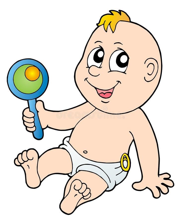 dziecko brzęk ilustracja wektor