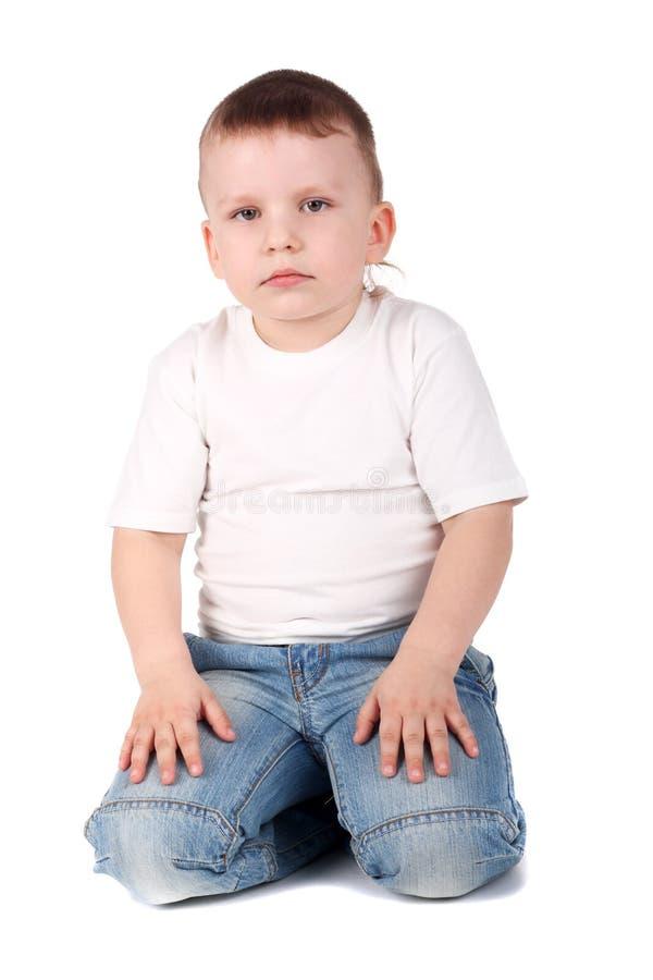 dziecko cajgi obraz stock