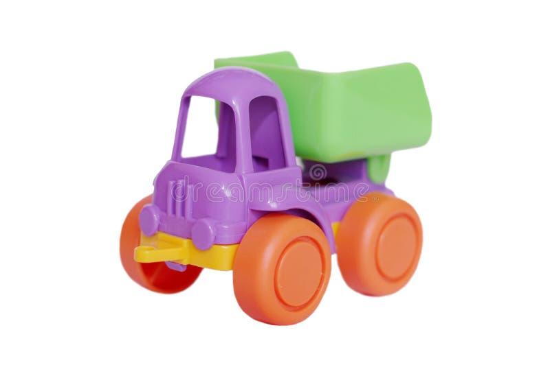Dziecko ciężarówka na białym tle zdjęcia stock