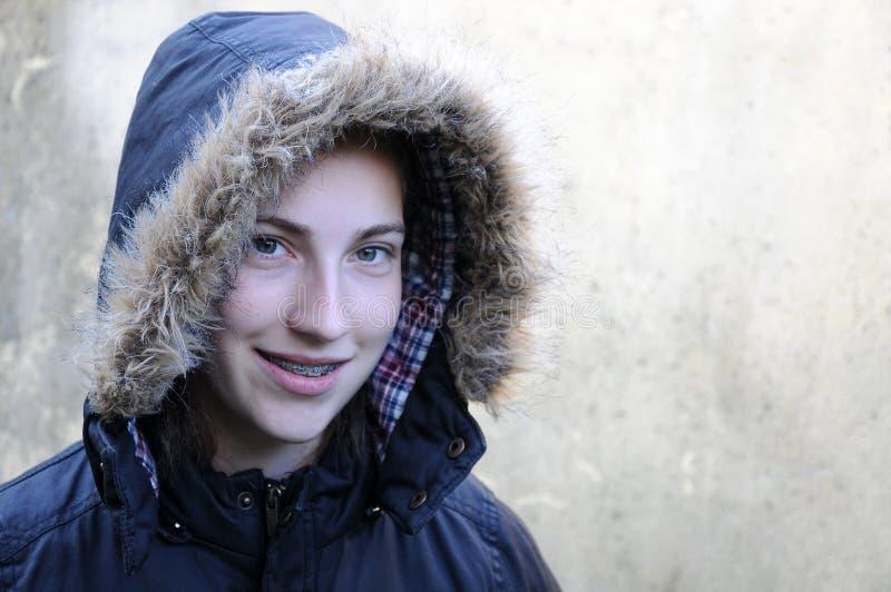 dziecko dni słońca zimy uśmiechnięta dziewczyny obraz royalty free