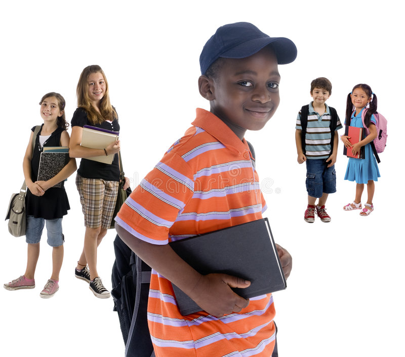 Download Dziecko do szkoły zdjęcie stock. Obraz złożonej z różnorodność - 6327012