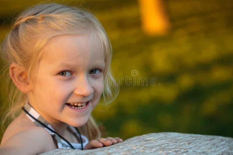 Dziecko dziewczyna zdjęcia stock