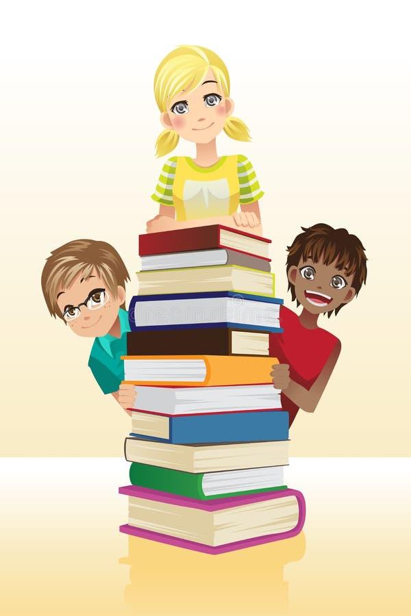 Dziecko edukacja ilustracja wektor