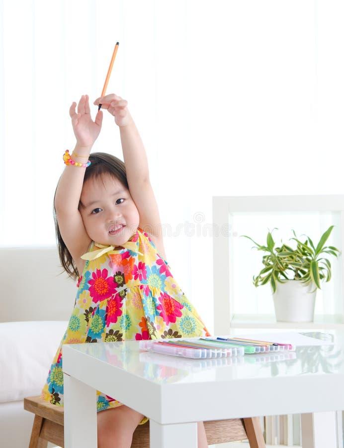 Dziecko edukacja fotografia stock