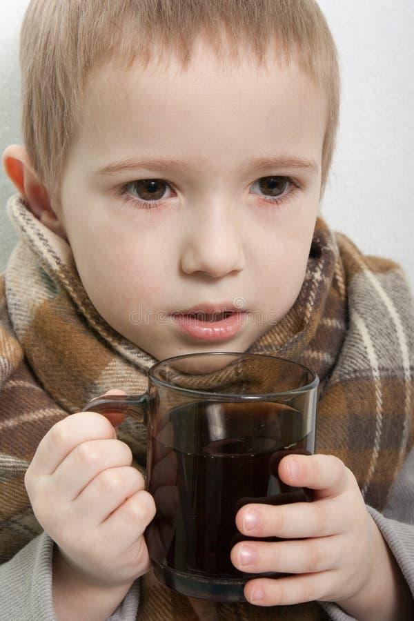 Download Dziecko febra obraz stock. Obraz złożonej z hairball - 13338861
