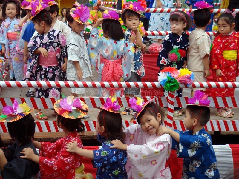 Dziecko festiwal zdjęcia royalty free