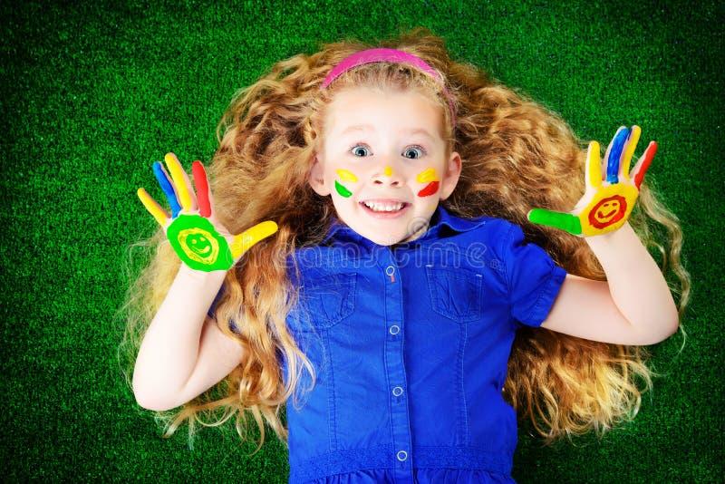 Dziecko hobby zdjęcia royalty free