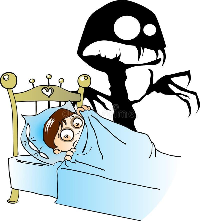 dziecko horror s royalty ilustracja