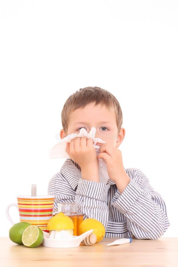 dziecko jest chore zdjęcia royalty free