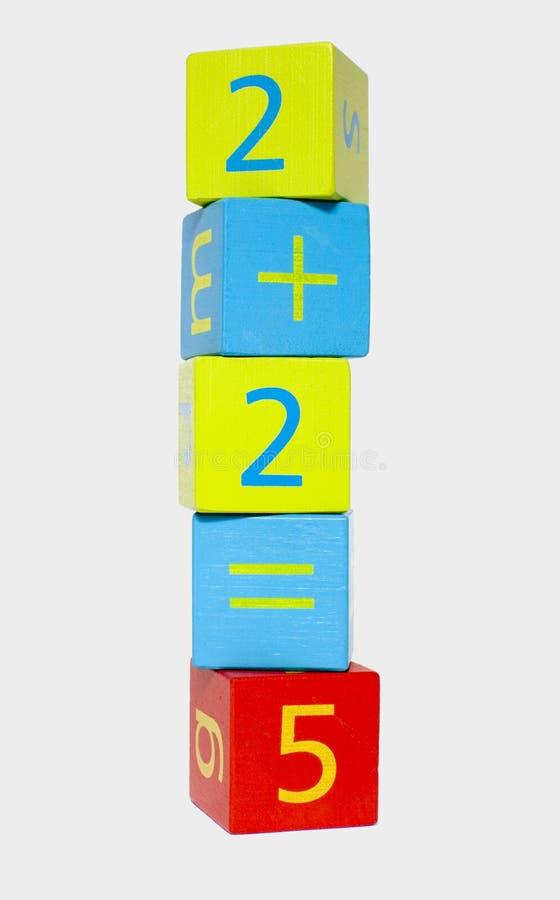 dziecko jest zbudowany bloków obrazy stock