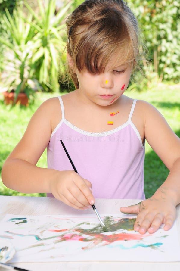 dziecko kolor zdjęcie stock