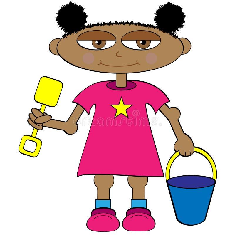 dziecko komiks. ilustracja wektor