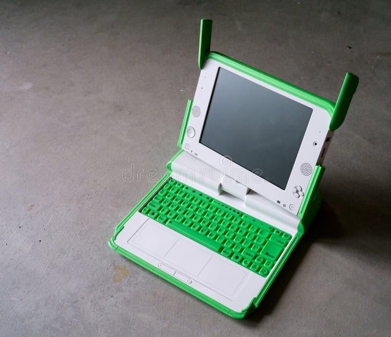 dziecko komputer s zdjęcia stock