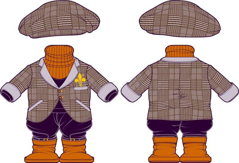 Dziecko kostiumy obrazy stock
